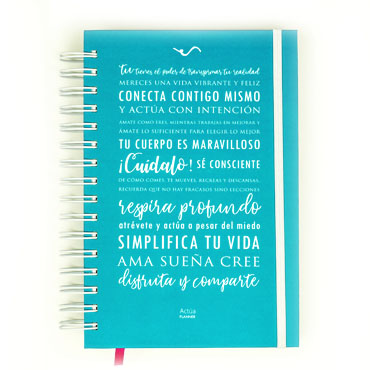 Actúa Planner - Agenda 2019