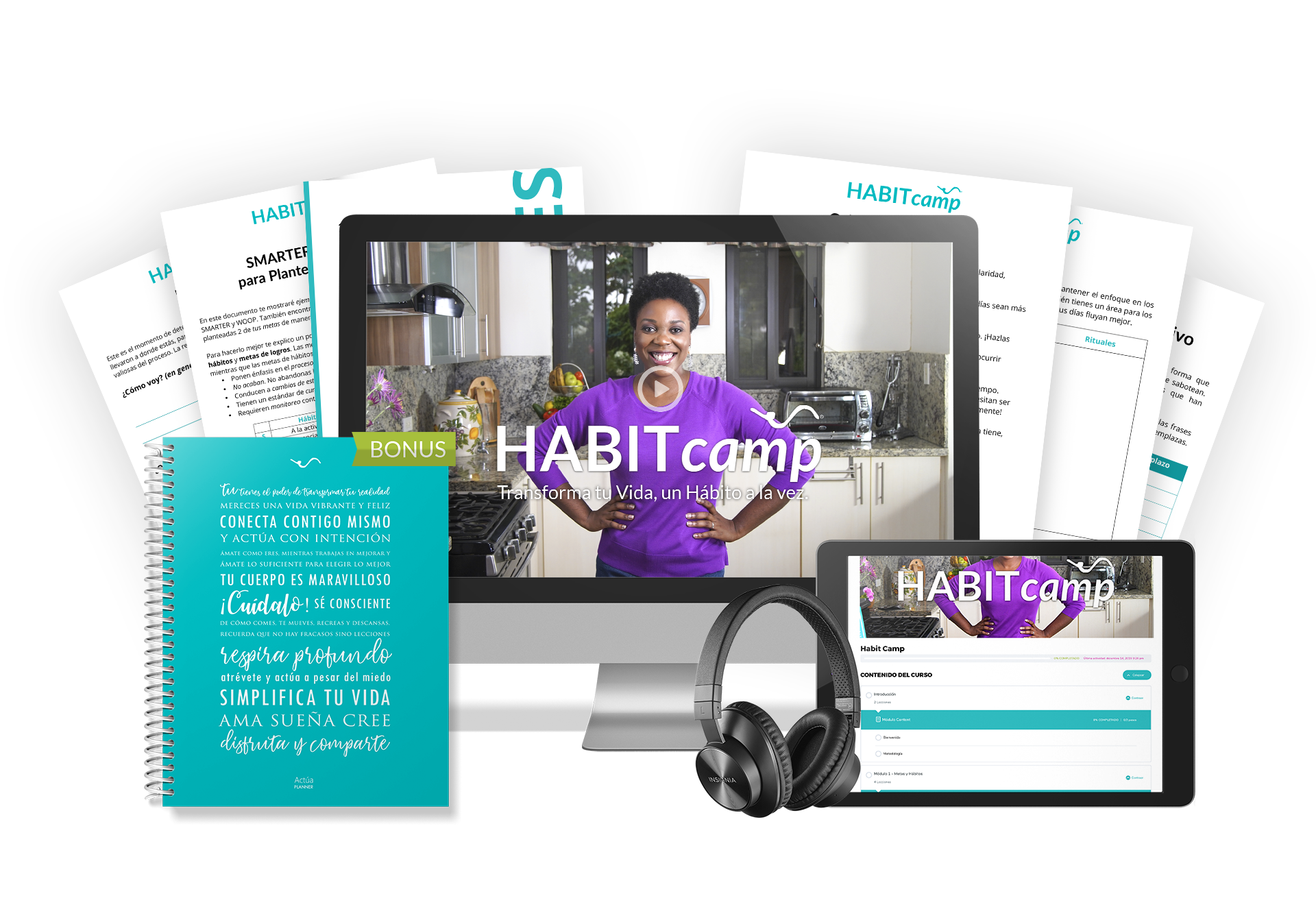 Habit Camp bundle - autodirigido